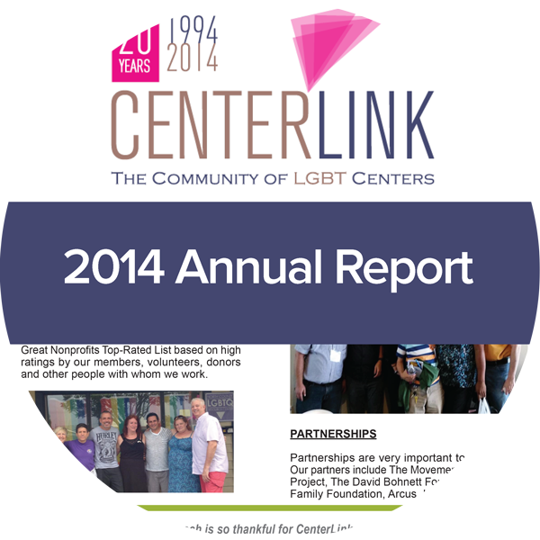 image of centerlink 2014 annual report