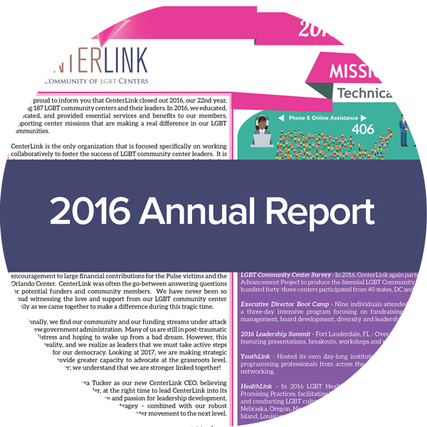 image of centerlink 2016 annual report