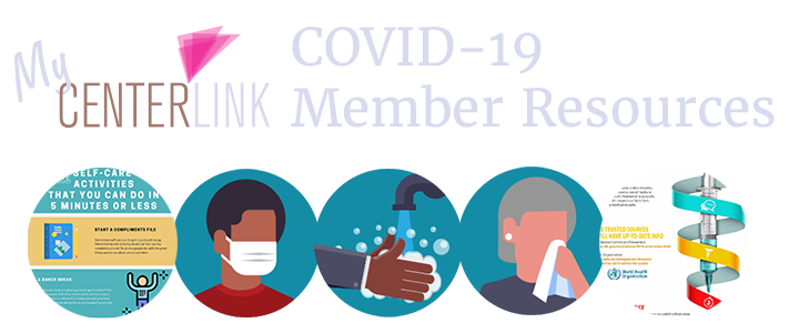 CenterLink's COVID-19/Coronavirus Resources for members (login required)