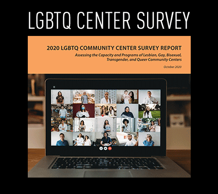 Biennial report about LGBTQ+ Community Centers - cover image