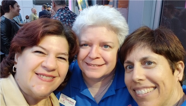 Denise, Donna, and Julia are here to help our members