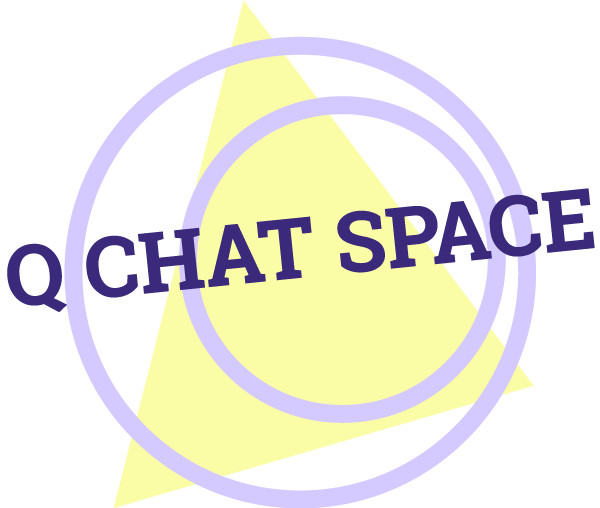 Q Chat Space Logo