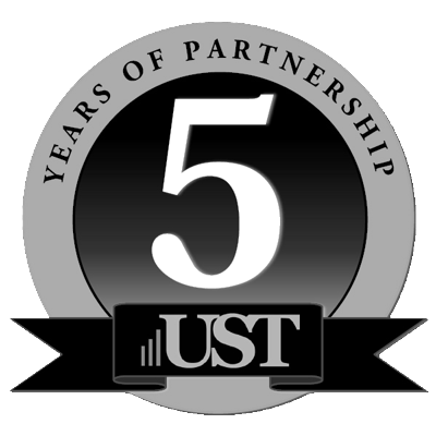 Logo for UST