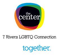 The Center: 7 Rivers LGBTQ Connection logo